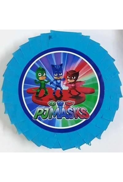 Parti Furyası Pijamaskeliler Pjmask Pinyata