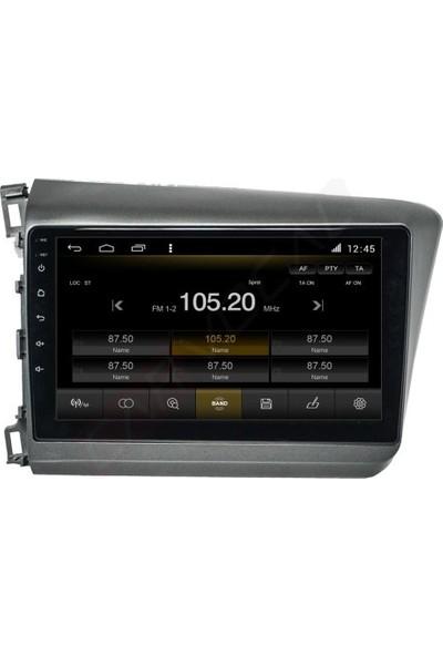 Nicsy Honda Civic Fb7 Android Multimedya Sistemi (2012-2016) Gps Sistem