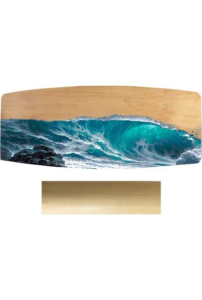 Woodie Denge Tahtası Dalga - Balance Board Wave 70X29X1.5CM