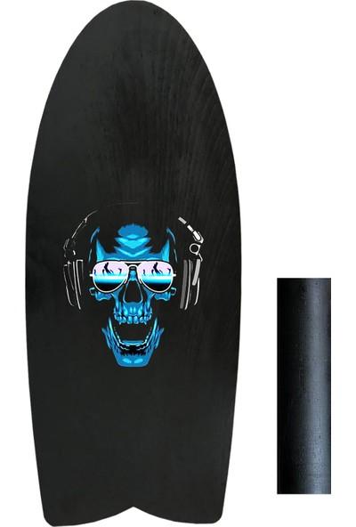 Woodie Denge Tahtası Kuru Kafa Gözlük - Balance Board Skull 70X29X1.5CM