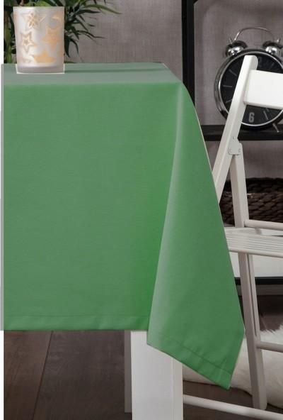Derinteks Leke Tutmaz Dertsiz Masa Örtüsü Koyu Yeşil 100 x 100 cm