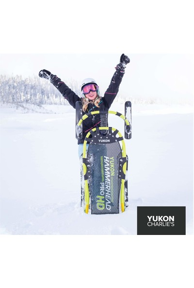 Yukon Hammerhead Pro Hd Yönlendirilebilir Kar Kızağı