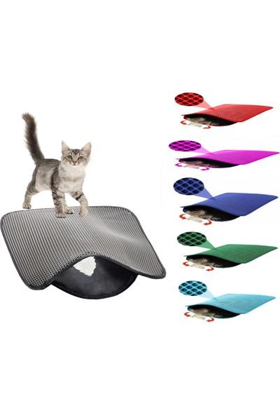 Maxisol Elekli Kedi Tuvalet Önü Paspası 60 x 45 cm
