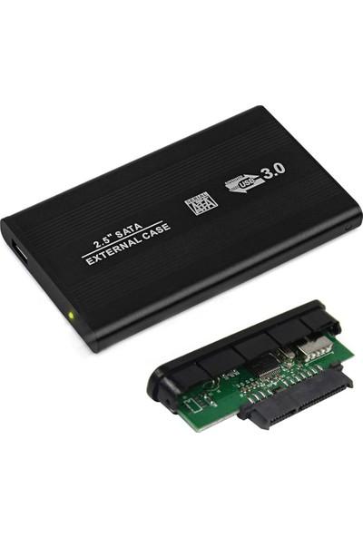 Wozlo 2.5 Sata HDD USB 3.0 Harddisk Kutu - Aluminyum Gövde + Kılıf
