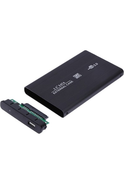 USB 2.5 Sata HDD Harddisk Kutu Aliminyum Gövde - Harici HDD Hard Disk Kutusu
