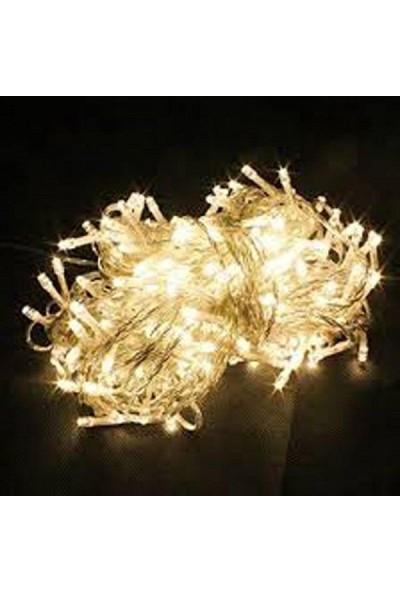 Pazariz 10 Metre 100 LED Işıklı Süsleme Gün Işığı Rengi