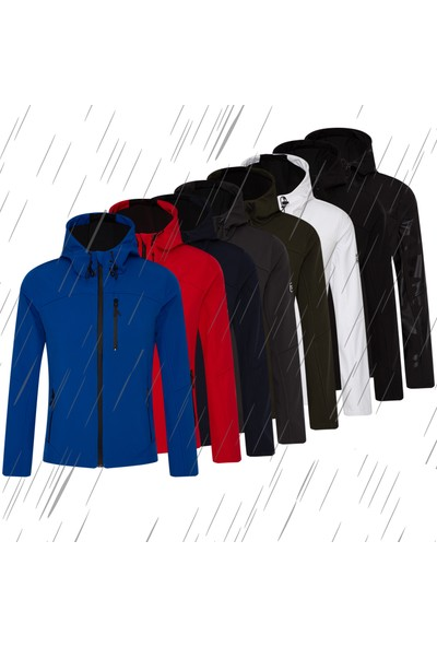 Ghassy Co.Yelkenli Rainproof / Windproof Softshell Erkek Mont