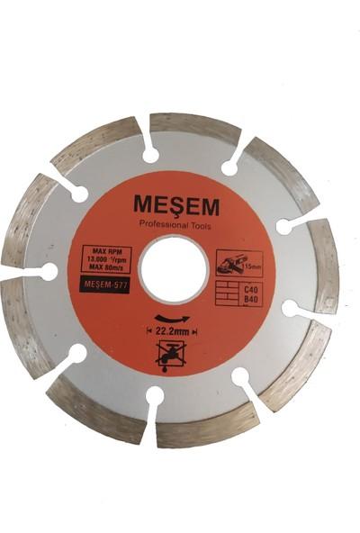 Meşem Fayans Kesme 115 Lik Mermer Ahşap Granit Demir Kesme Disk Seti