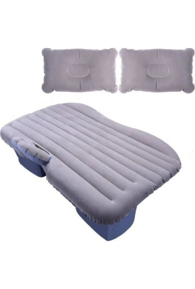 Lariz Araç İçi Şişme Yatak Araba Arka Koltuk Yatağı + Şişirme Pompası