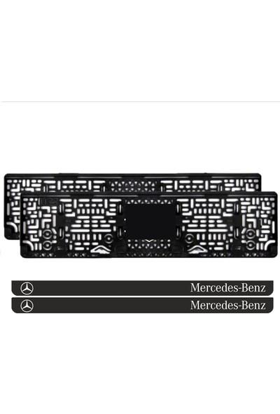 Appcity Mercedes Benz Takmatik Pleksi Plakalık (2 Adet)
