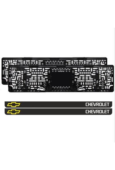 Appcity Chevrolet Takmatik Pleksi Plakalık (2 Adet)