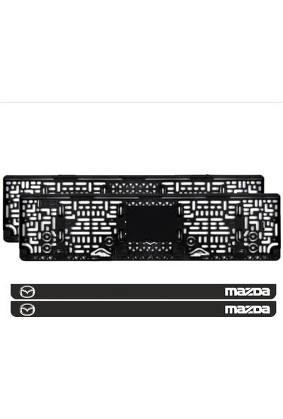 Appcity Mazda Takmatik Pleksi Plakalık (2 Adet)