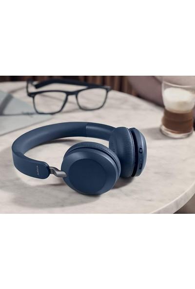 Jabra Elite 45H Kablosuz Kulaküstü Bluetooth Kulaklık - Navy Mavi