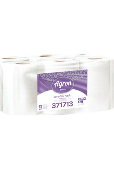 Agron Extra Hareketli Sensörlü Havlusu 2 Katlı 6'lı
