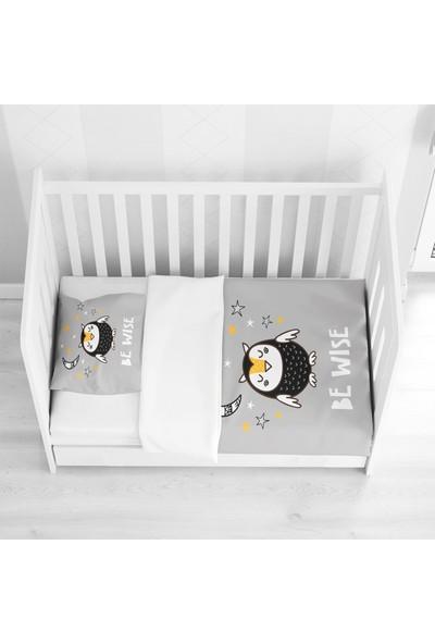 Else Halı Else Sevimli Uykucu Baykuş 3D Desenli Bebek Nevresim Takımı