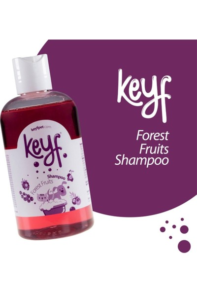 Keyf Kedi Köpek Şampuanı Forest Fruits Shampoo