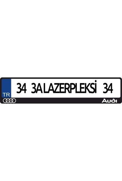 3A Lazerpleksi Audi Logolu Plakalık