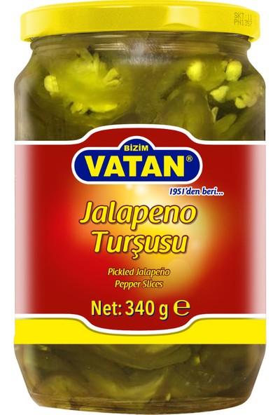 Bizim Vatan Jalapeno Turşusu 340 gr