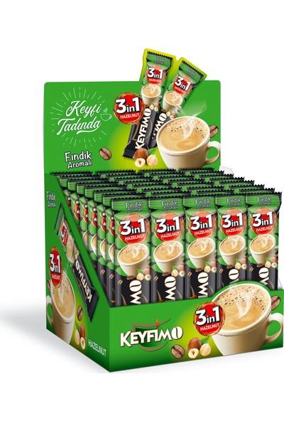 Keyfimo 3'ü1 Arada Fındık Aromalı 48'li PAKET8692117005560