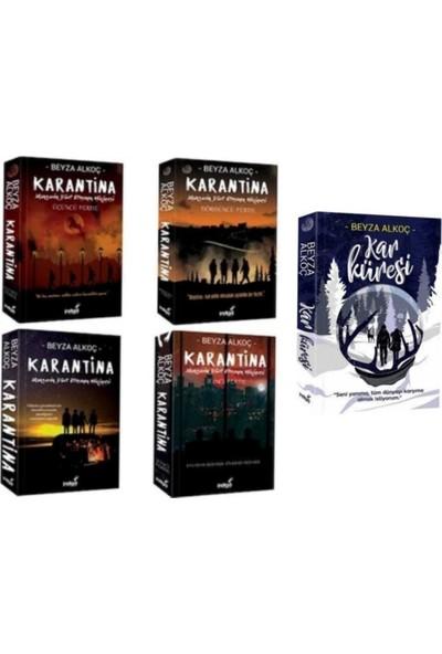Karantina Serisi 4'lü Set ve Kar Küresi Kitabı - 5 Kitap
