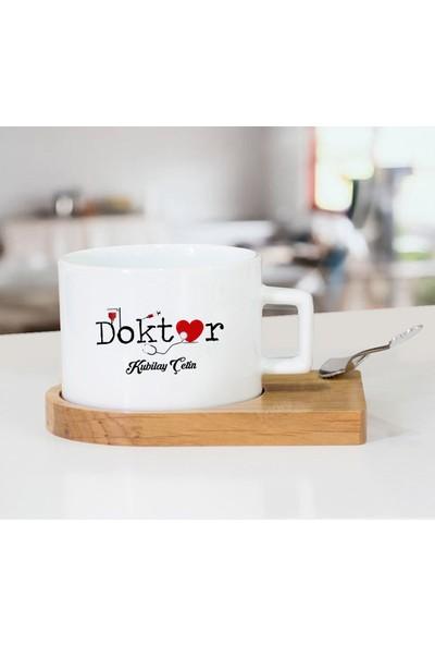 Monark Hediyelik Doktorlar Için Hediyelik Çay Fincanı