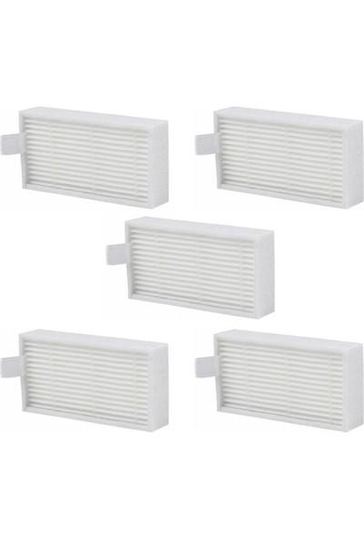 Ilife Hepa Filtre (V3S Pro-V50-V5S Pro) Uyumlu 5 Adet