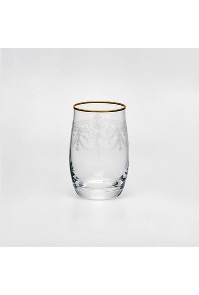 Leonarte Casa Bohemia Pantograflı 6'lı Su Bardağı Takımı Mat Altın