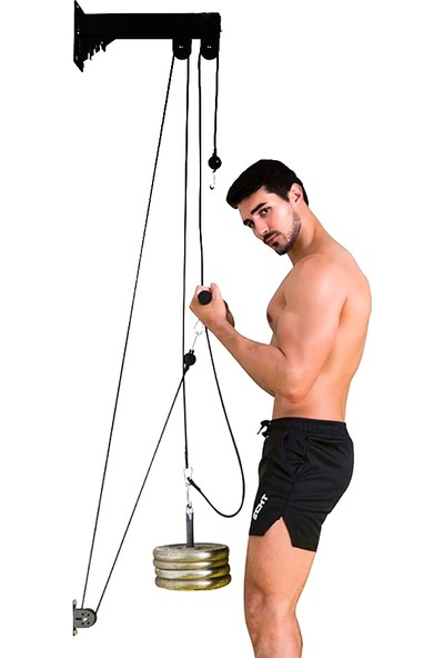 Prodips Duvar Tipi Fitness Çalışma Istasyonu