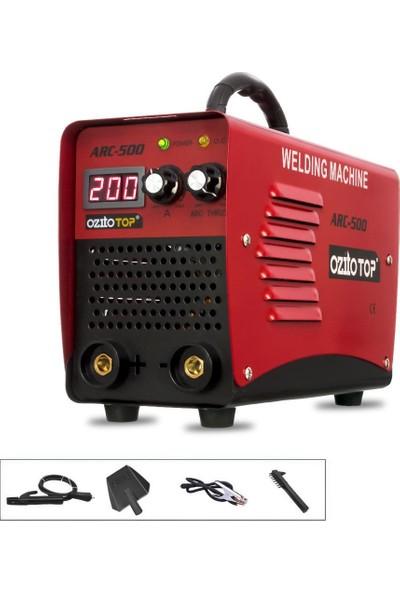 JCB Ozito Top Arc 500 Pro Inverter Dijital Göstergeli Kaynak Makinası 200 Amp 2,5 3 Sorunsuz Eritir