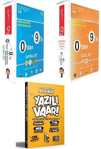 Tonguç Akademi 9. Sınıf 0'dan 9'a Sayısal Sözel Set ve Yazılı Var Kitabı