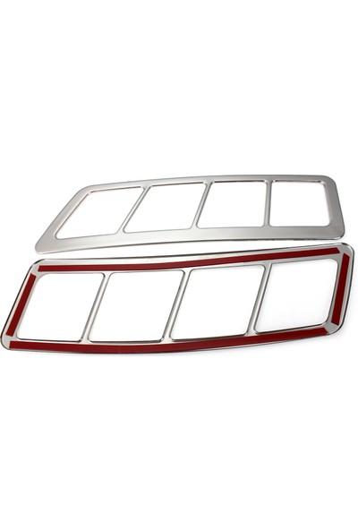 Auto Accessory World Ford Transıt 2014 Kaput Üstü Havalandırma Çerçevesi 2 Çelik