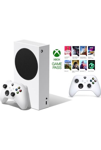 Microsoft RRS-00010 Xbox Series S 512GB SSD Oyun Konsolu Beyaz + 1 Kol Beyaz + 1 Yıl Gamepass ( Microsoft Türkiye Garantili )