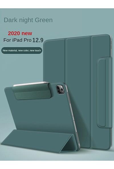 Teleplus Apple iPad Air 3 Kılıf Cover Standlı Mıknatıslı Bluetooth Klavyeli Kılıf Yeşil