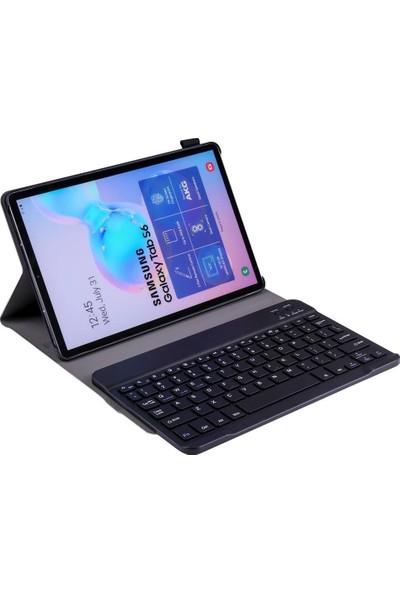 Teleplus Samsung Galaxy Tab A 8.0 (2019) T290 Kılıf Cover Standlı Mıknatıslı Bluetooth Klavyeli Kılıf Yeşil