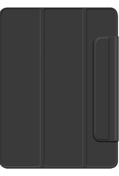Teleplus Samsung Galaxy Tab S6 Lite P610 Kılıf Cover Standlı Mıknatıslı Bluetooth Klavyeli Kılıf Siyah