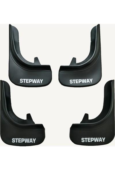Rich Dacıa Stepway Çamurluk Tozluk Paçalık 4'lü Set