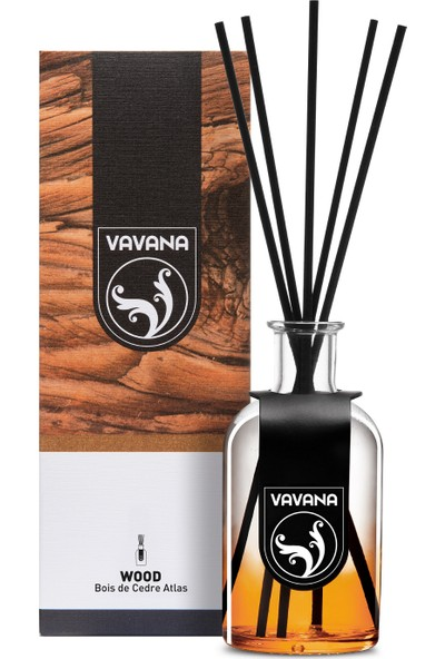 Vavana Çubuklu Oda Ofis Kokusu - Oda Parfümü - 100 ml - Boıs De Cedre Atlas