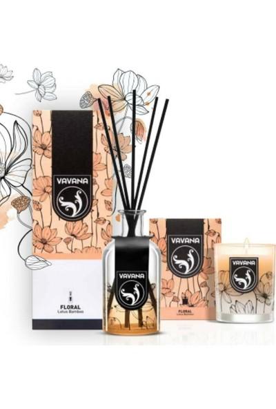 Vavana Çubuklu Oda Ofis Kokusu - Oda Parfümü - 100 ml - Lotus Bamboo