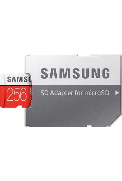 Samsung Evo Plus 256GB microSDHC/SDXC U3 UHS-I SDR104 Kart (Adaptör) MB-MC256HA/APC
