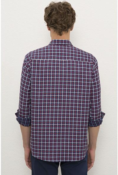 U.S. Polo Assn. Erkek Kırmızı Gömlek Uzunkol 50231406-VR030