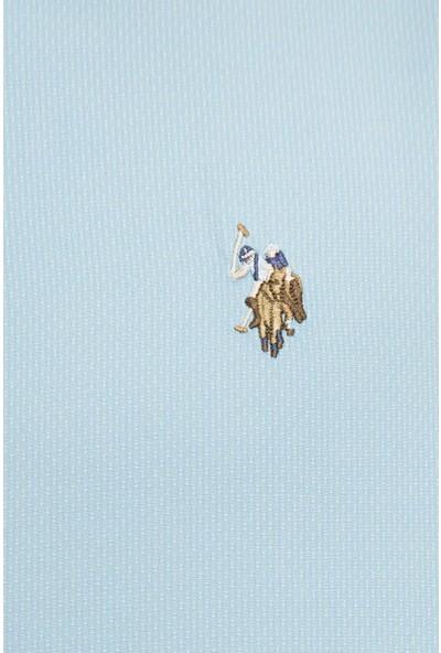 U.S. Polo Assn. Erkek Yeşil Gömlek Uzunkol 50231336-VR093
