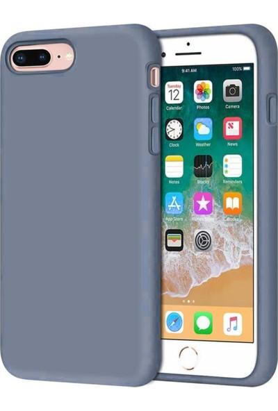 Rosstech Apple iPhone 7 - 8 - SE Lansman Silikon Kılıf - Petrol Mavisi