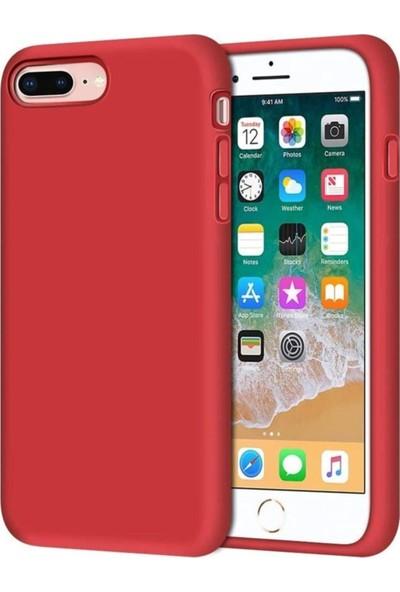 Rosstech Apple iPhone 7 - 8 - SE Lansman Silikon Kılıf - Kırmızı