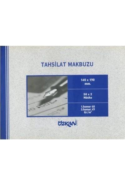Özkan Tahsilat Makbuzu Otokopili 50X2 140 x 190 mm