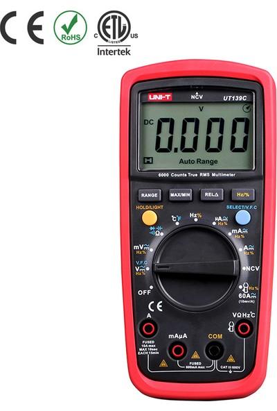 Uni-T UT139C True Rms Dijital Multimetre