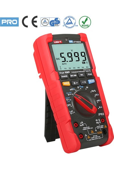 Uni-T UT195DS (Gs) Profesyonel Seri Dijital Multimetre (Pro Line)