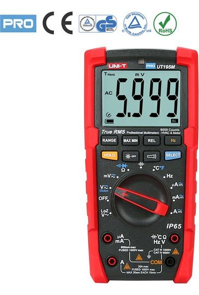 Uni-T UT195M (Gs) Profesyonel Seri Dijital Multimetre (Pro Line)