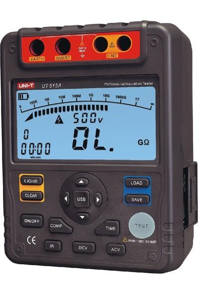 Uni-T UT513A Yüksek Voltaj Izolasyon Meğeri - Izolasyon Dirençi Ö