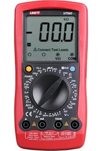 Uni-T UT58D Genel Tip Dijital Multimetre