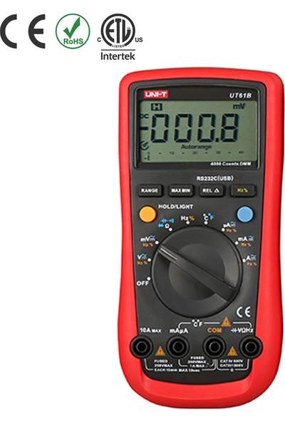 Uni-T UT61B Modern Tip Dijital Multimetre